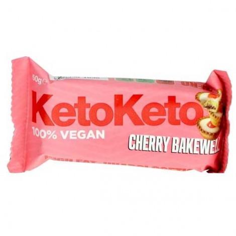 Keto - Barrita Vegana - Almendras y Cereza
