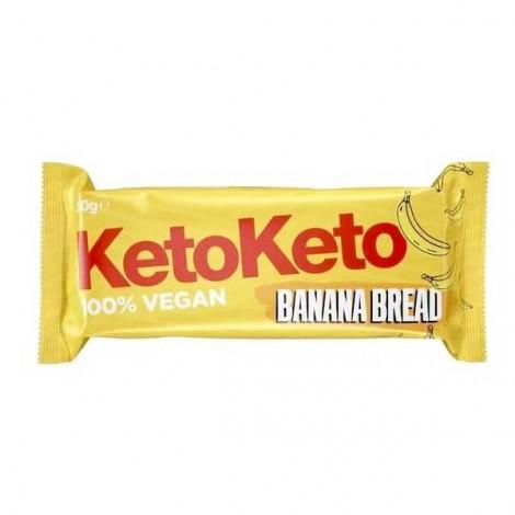Keto - Barrita vegana - Banana Bread