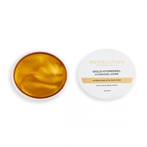 Parches hidratantes de hidrogel con oro coloidal - Gold Eye