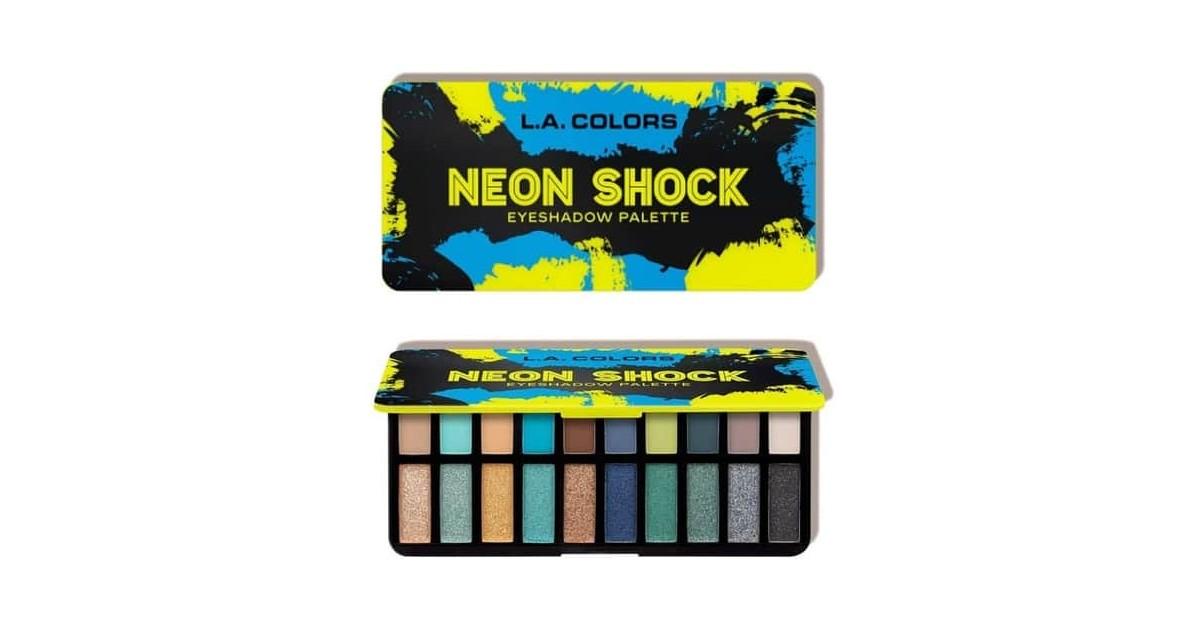Paleta de sombras de ojos Jolt - Neon Shock