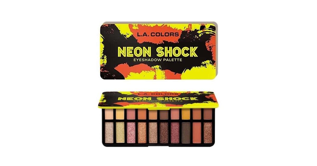 Paleta de sombras de ojos Voltage - Neon Shock