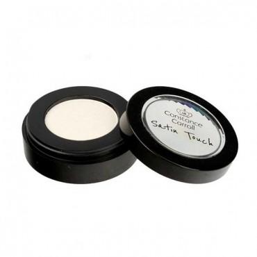 Sombra de ojos Satin Touch - 01: White Silver
