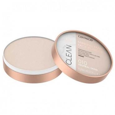 Clean ID - Polvos compactos matificantes Mineral - 010: Neutral Sand