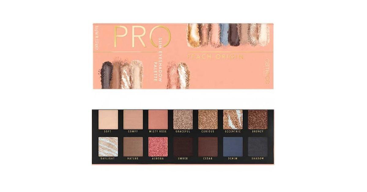 Paleta de sombras Pro Peach Origin Slim - 010: Golden Afterglow