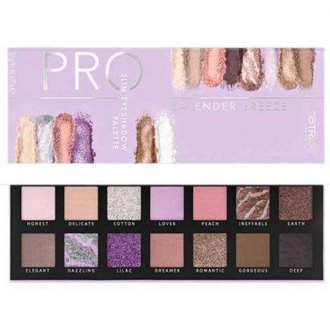Paleta de sombras Pro Lavender Breeze Slim - 010: Sea of Blossoms