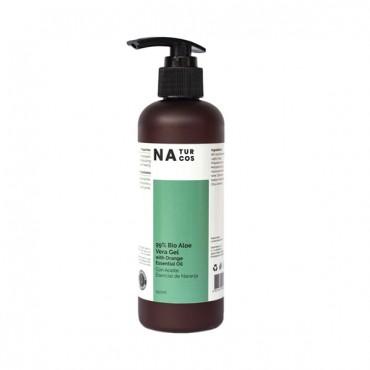 Naturcos - BIO Aloe Vera Gel 99% con aceite esencial de naranja
