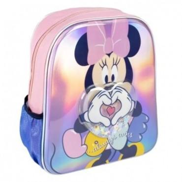 Mochila Infantil Confeti - Minnie