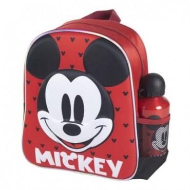 Mochila Infantil 3D Con Accesorios - Mickey
