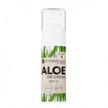 Aloe - BB Cream Hipoalergénica SPF15 - 02: Vainilla