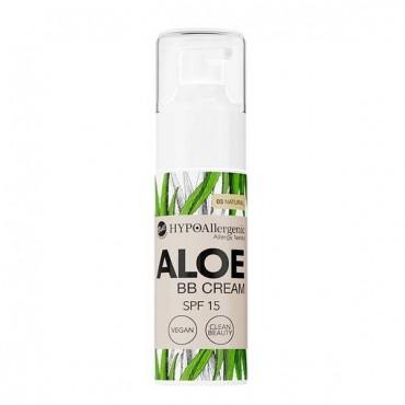 Aloe - BB Cream Hipoalergénica SPF15 - 03: Natural