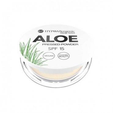 Aloe - Polvos Compactos Hipoalergénicos SPF15 - 02: Vainilla