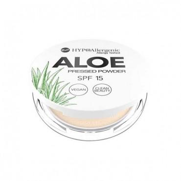 Aloe - Polvos Compactos Hipoalergénicos SPF15 - 03: Natural