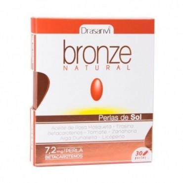Bronze Natural - 30 perlas