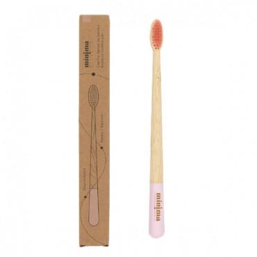 Cepillo de bambú - Rosa