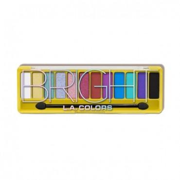 L.A. Colors - Paleta de sombras Bright - De la colección Color Vibe Ed. Limitada