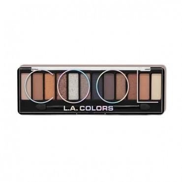 L.A. Colors - Paleta de sombras Cool - De la colección Color Vibe Ed. Limitada