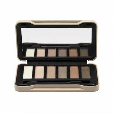 Magic Studio - Paleta de sombras de ojos - Nudes Compact - 6 tonos