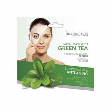 IDC INSTITUTE - Mascarilla facial de té verde