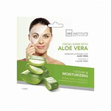 IDC INSTITUTE - Mascarilla facial de Aloe Vera