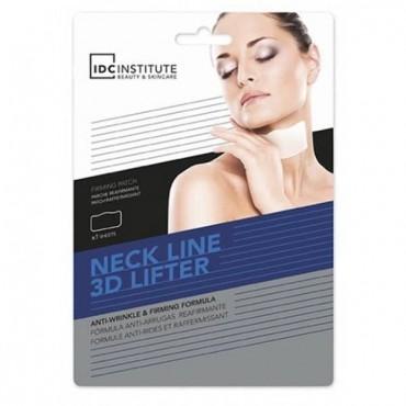 IDC INSTITUTE - Mascarilla 3D para el cuello - Efecto Antiarrugas