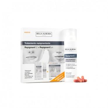 Pack REPIGMENT12 + Cápsulas Solares - Tratamiento Repigmentante Manchas Blancas