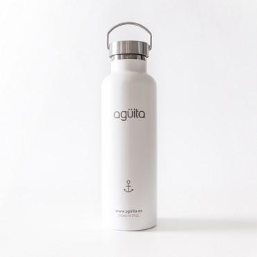 AGÜITA - BOTELLAS DE ACERO INOXIDABLE - 750ML - HECHA EN CANARIAS