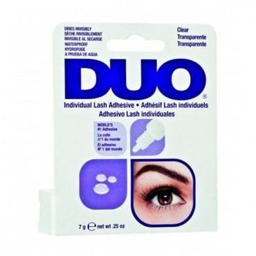 DUO - Pegamento para pestañas postizas individuales - Transparente - 7gr