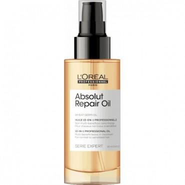 L'Oreal Professionnel - Spray Perfeccionador 10 en 1 Absolute Repair Gold - 90ml