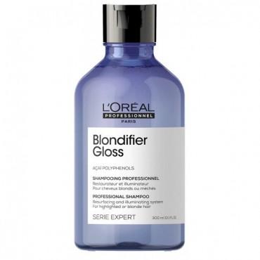 L'Oréal Professionnel - Champú Iluminador Brillante - Blondifier Gloss - 300ml