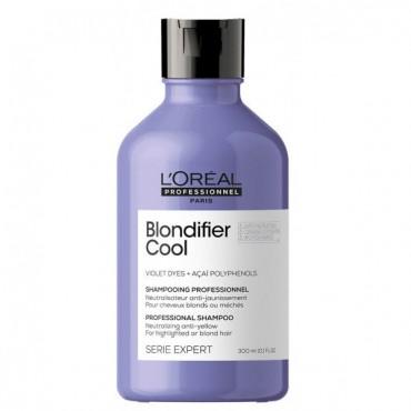 L'Oréal Professionnel - Champú Neutralizador Anti-amarillo - Blondifier Cool - 300ml