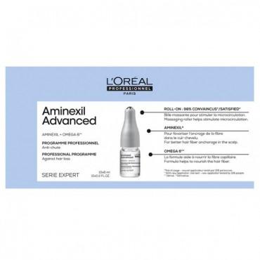 L'Oréal Professionnel - Tratamiento Anti-caída - Aminexil Advanced - 10x6ml ampollas