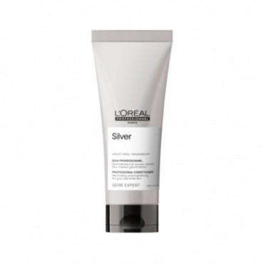 L'Oréal Professionnel - Acondicionador para pelo blanco o plateado - Silver - 200ml