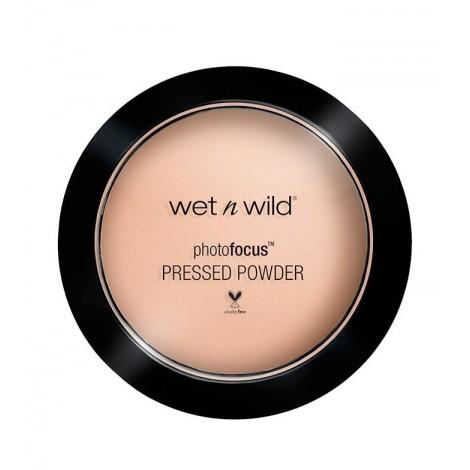 Wet N Wild - Polvos compactos Photo Focus - E823C: Neutral Beige