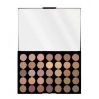Makeup Revolution - Paleta de sombras de ojos Pro HD Amplified 35 Matte - Commitment