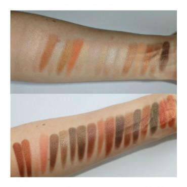Makeup Revolution - Paleta de sombras de ojos Pro HD Amplified 35 Shimmer - Direction