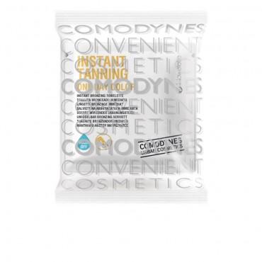 Comodynes - INSTANT TANNING toallita auto bronceadora instantanea para piernas - One day color 8 uds