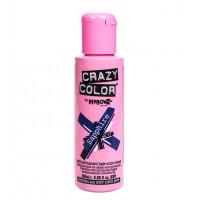 CRAZY COLOR Nº 72 - *The Metallics* Crema colorante para el cabello - Sapphire 100ml