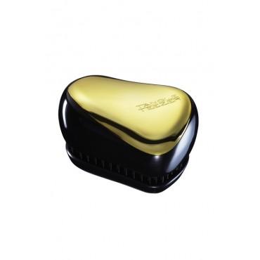 Tangle Teezer Compacto - Cepillo especial para desenredar - Dorado-Negro