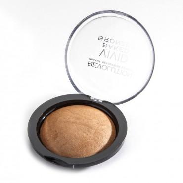 Makeup Revolution - Bronceador en Polvo Baked - Golden Days
