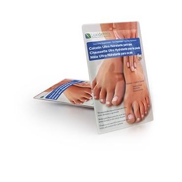 Luxiderma - Calcetín Ultra Hidratante para pies