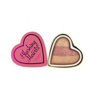 I Heart Makeup - Colorete Hearts - Peachy Keen Heart