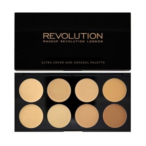 Makeup Revolution - Paleta de Correctores Ultra - Light-Medium