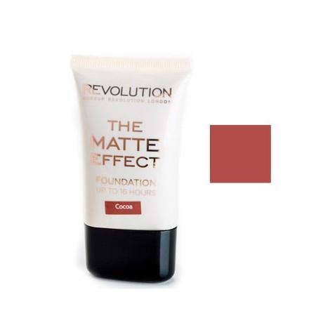 Makeup Revoltuion - Base de Maquillaje Matte Effect - Cocoa