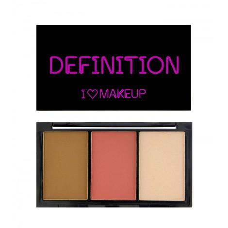 I Heart Makeup - Paleta I Heart Definition - Medium