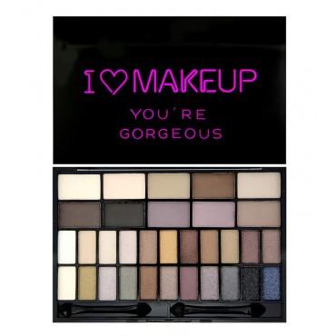 I Heart Makeup - Paleta Theme - You are Gorgeous