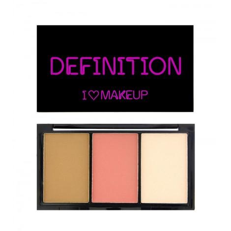 I Heart Makeup - Paleta I Heart Definition - Fair