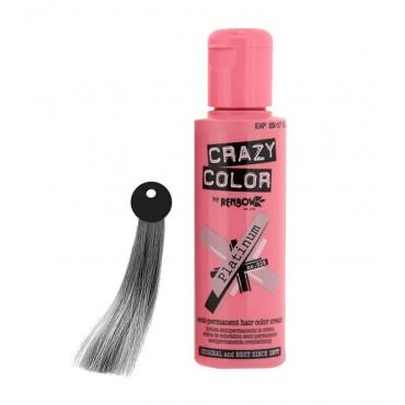 Crazy Color - Nº 28 - Crema colorante para el cabello - Platinium 100ml
