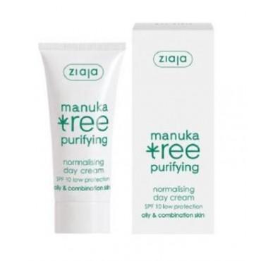 Ziaja - Manuka Tree - Crema de Día para Pieles Grasas SPF10