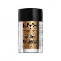Nyx Professional Makeup -Face & Body Glitter - GLI08: Bronze