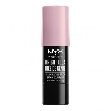 Nyx Professional Makeup - Iluminador en stick Bright Idea - BIIS06: Lavender Lust